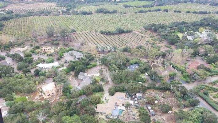 Air Rescues Continue in Montecito