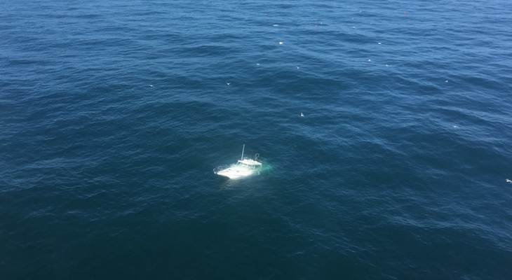Coast Guard Rescues 6 People from Sinking Boat