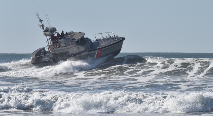 Coast Guard Warns of Heavy Sea Conditions title=