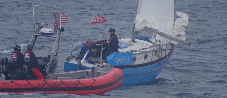 Mariner Assisted After 5-month Journey across Pacific