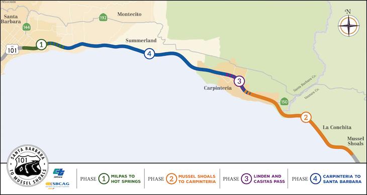 Highway 101 Widening Project Update