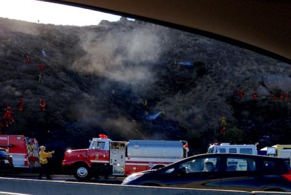Brush Fire in Camarillo title=