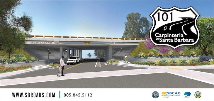 Highway 101 Summerland Constructions Begins Sunday title=