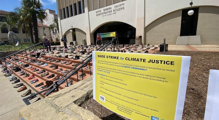 Shoe Strike for Climate Justice (Photo: John Palminteri)