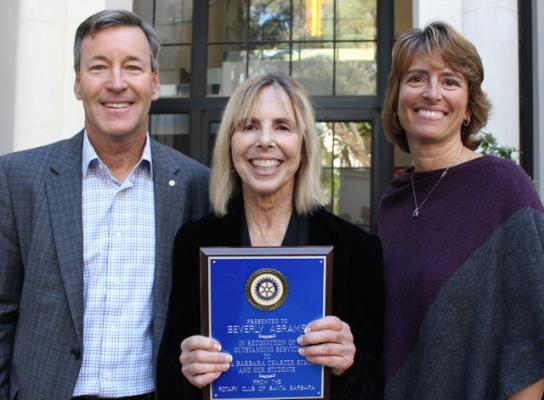 Rotary Club Recognizes Santa Barbara Charter School teacher title=