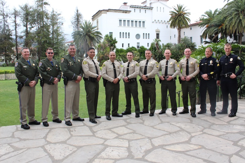 SB Sheriff's Recognize 2017 Guerry Award Recipients