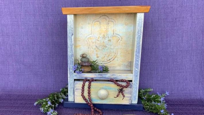 From Sorrow to Celebration: A Community Memorial Altar at Paradise Found title=