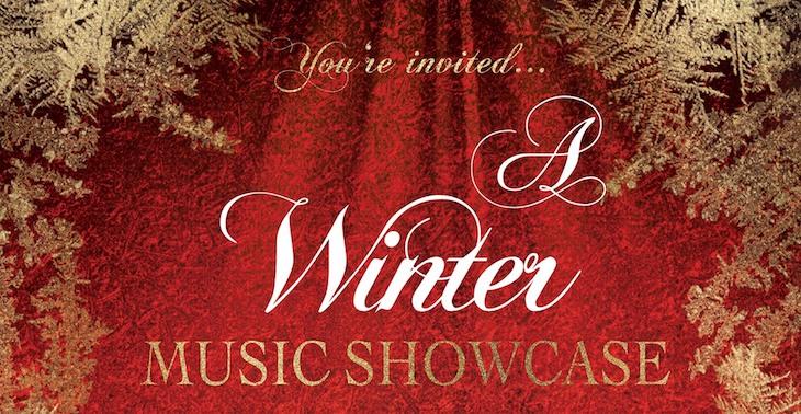 Virtual Winter Music Showcase on Sunday title=