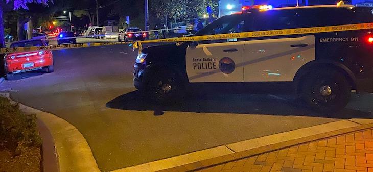 Assault on De La Vina Street