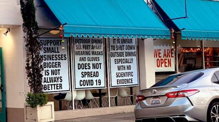 Restaurants Opening Outdoor Dining? title=