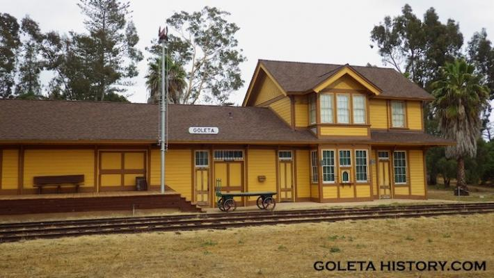 The History of the Goleta Train Depot title=
