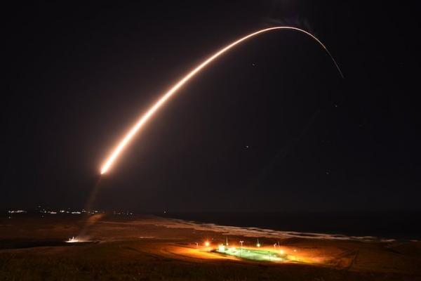 Vandenberg Successfully Launches Test Missile Tuesday Night