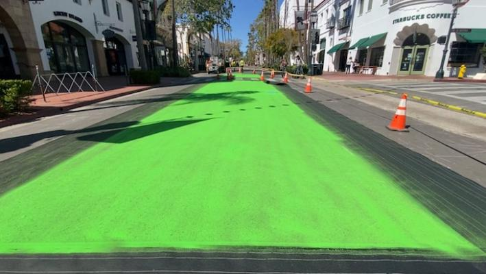 Green Changes to State Street Promenade