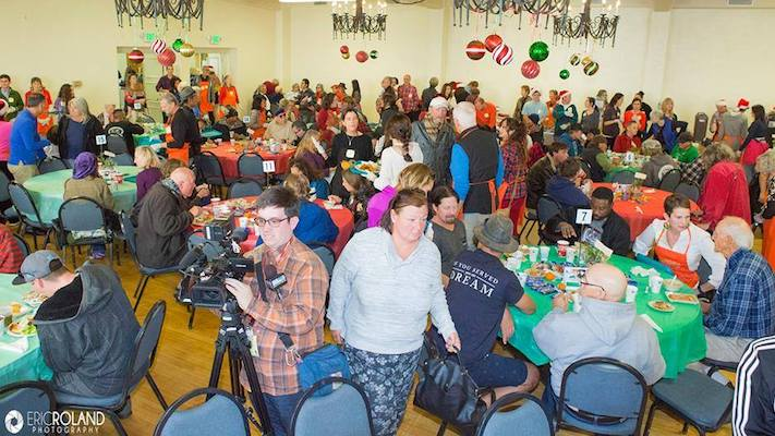 Christmas Meal for Firefighters & First Responders