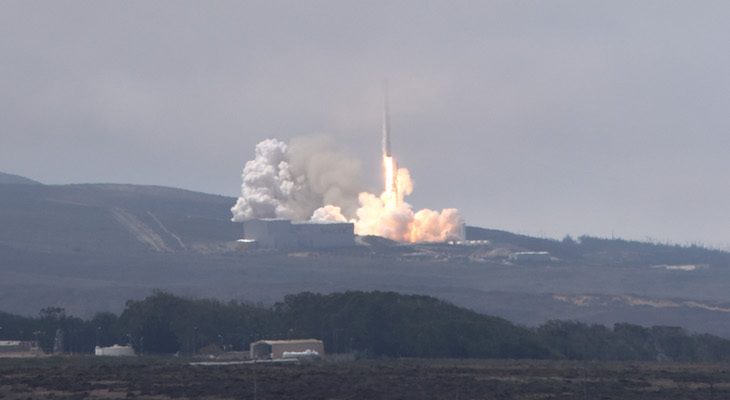 Falcon 9 Launch Successful