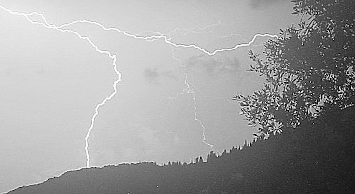 Way Back When: A Freak Storm in the Night