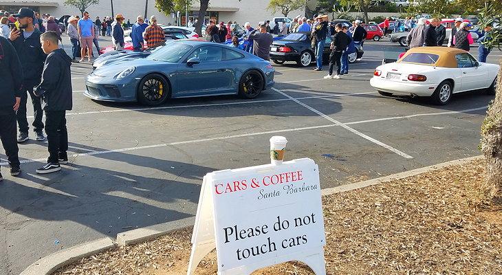 Cars and Coffee at La Cumbre Plaza