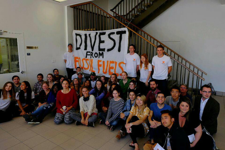 Chancellor Yang Speaks Out on Fossil Fuel Divestment