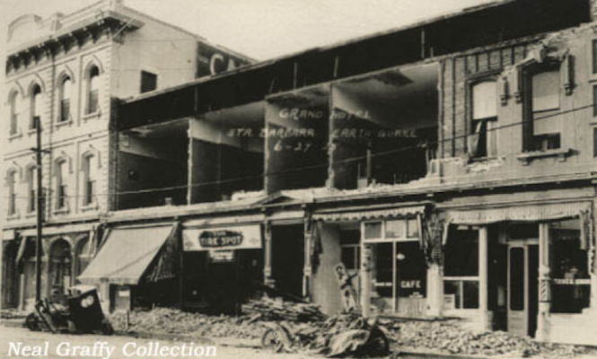 The 1925 Santa Barbara Earthquake: Day 1, Part 1 title=