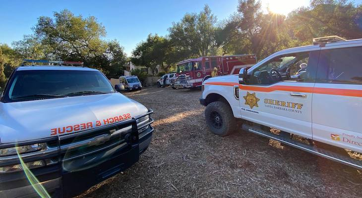 Injured Hikers Rescued from Hot Springs Trail title=