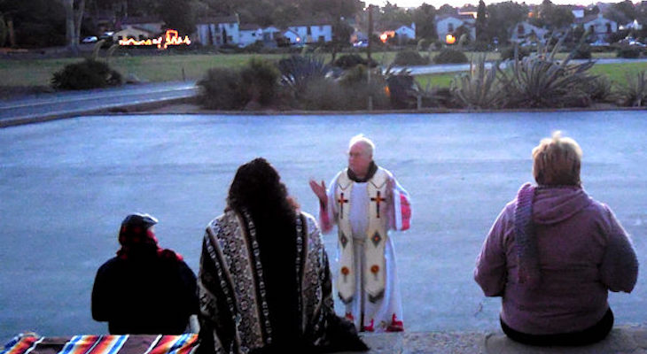 Winter Solstice at Mission Church