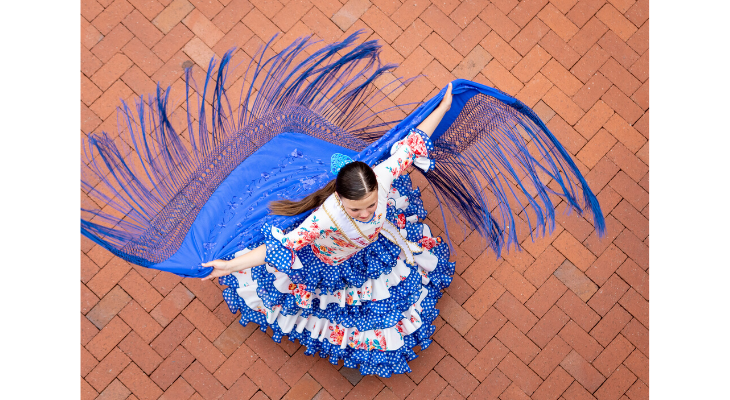 Spirits of Fiesta from Above
