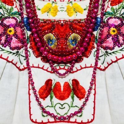 Vintage Trunk show of Mexican, Spanish and European Womens fashion
