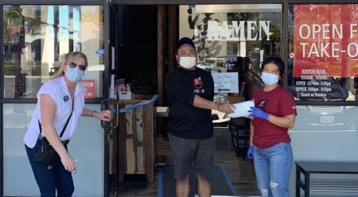 Goleta Chamber Launches Masks4Biz Program title=