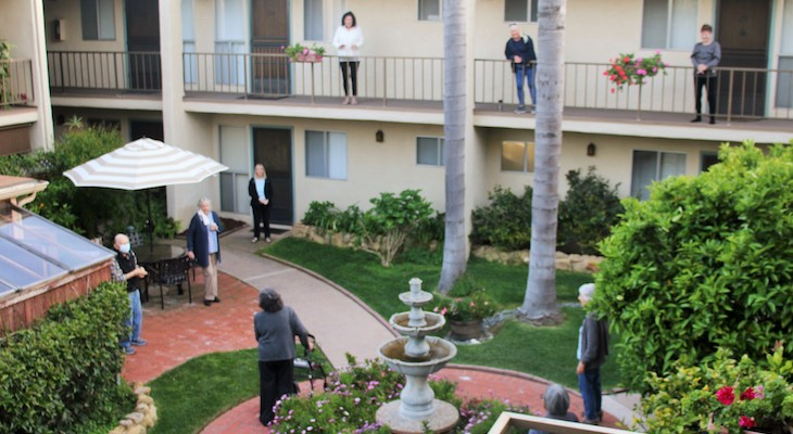 Santa Barbara Seniors Step Up During Coronavirus Pandemic title=