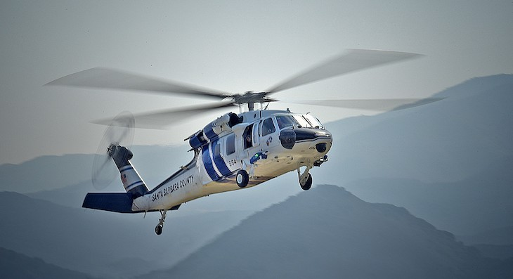 County Sheriff-Fire Air Support Unit Introduces Copter 964
