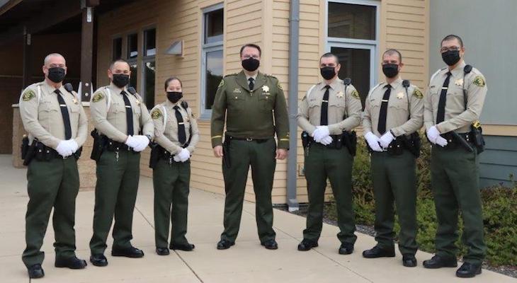 Sheriff Swears-In Six Custody Deputies and Six Sheriff's Deputies title=