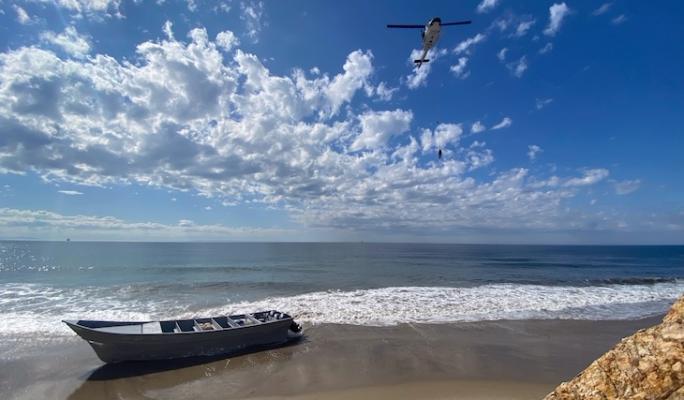 Panga Boat Intercepted Along Gaviota Coast title=