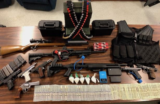 Goleta Man Arrested for Firearms and Narcotics