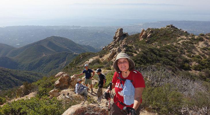 Flores Peak Hike title=