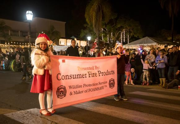 Downtown Santa Barbara 66th Annual Holiday Parade