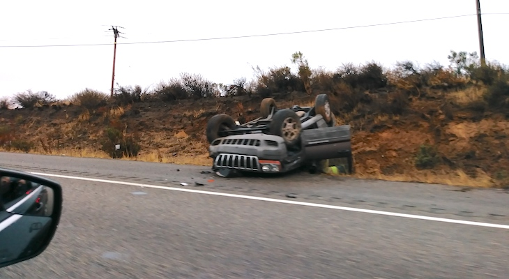 3 Rollover Traffic Accidents
