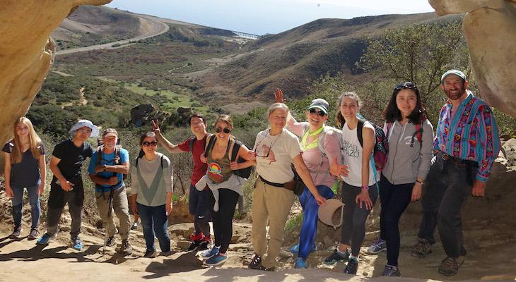 Gaviota Caves Sierra Club Hike title=