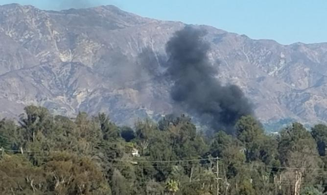 Fire in Montecito? title=