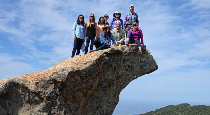 Lizard's Mouth Hike with the Sierra Club
