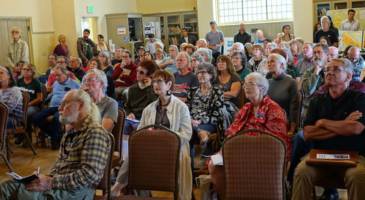 Big Turnout for Stop New Oil Drilling Event title=