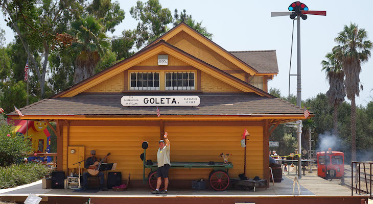 Goleta Depot Days at the South Coast Railroad Museum