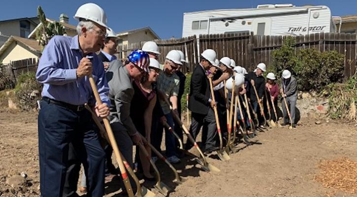 Housing Authority Breaks Ground on Veteran Housing  title=