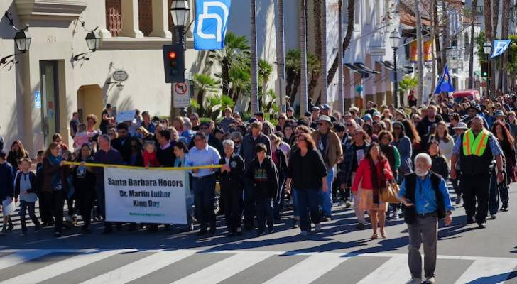 Martin Luther King Day Celebrated in Santa Barbara title=