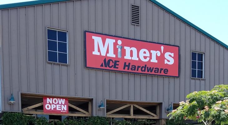 Miners Ace Hardware Now Open in Goleta