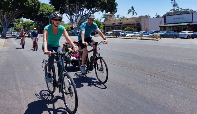 Santa Barbara Named 3rd Best City of Bicycles title=