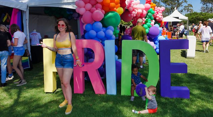 Pacific Pride Festival Highlights at Chase Palm Park title=