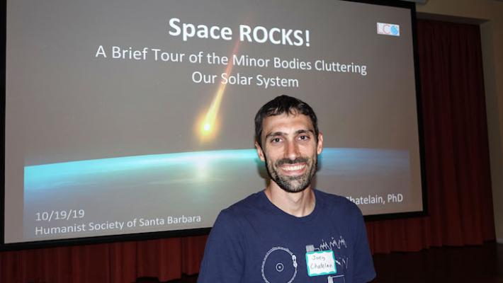 Space ROCKS! A Humanist Society Talk title=