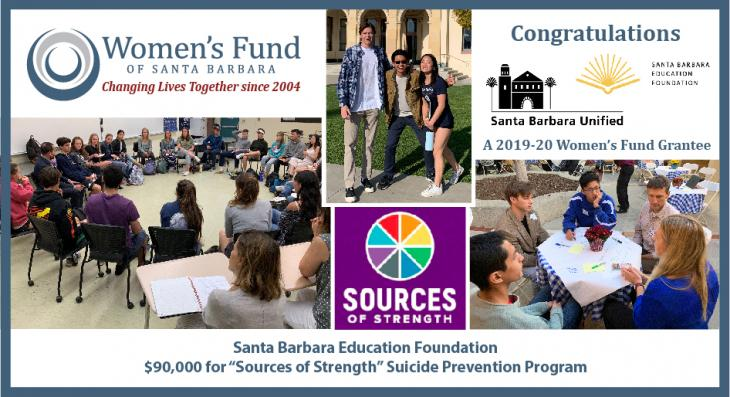 Women's Fund Awards $90,000 for Teen Suicide Prevention
