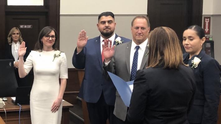 New Santa Barbara City Council Members Sworn In