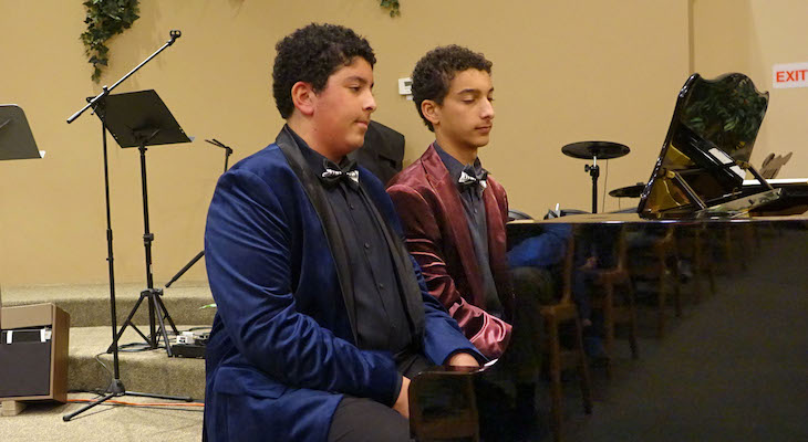 Piano Boys Bring Classical Music to Goleta title=